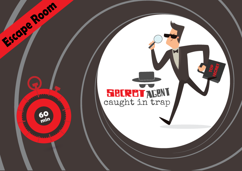 Escape Room Secret Agent Caught In A Trap 10 12 Years Old Printable Games For Kids