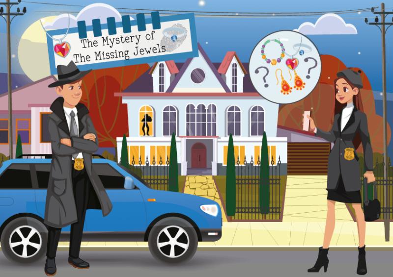 printable detective game for kids
