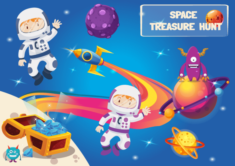 star wars treasure hunt for kids